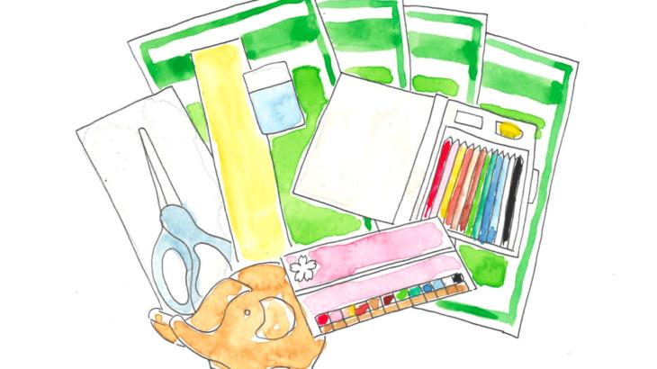入学シーズンに取り組むべき書店の文具セット